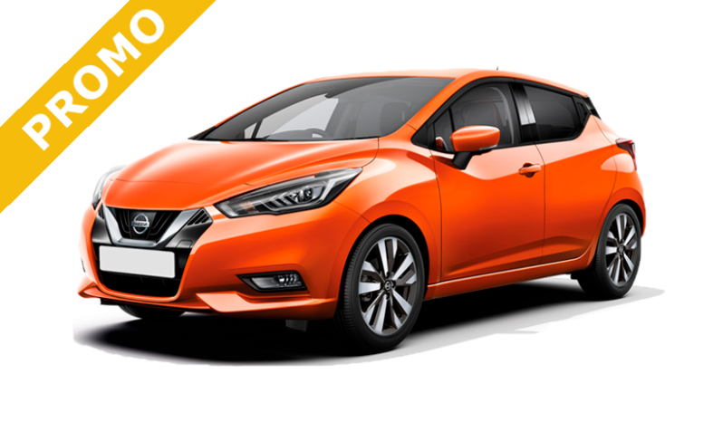 Nissan Micra 1.0L Business - 24 mesi / 30.000 km - € 227,00* - Rent to Rent Mobility